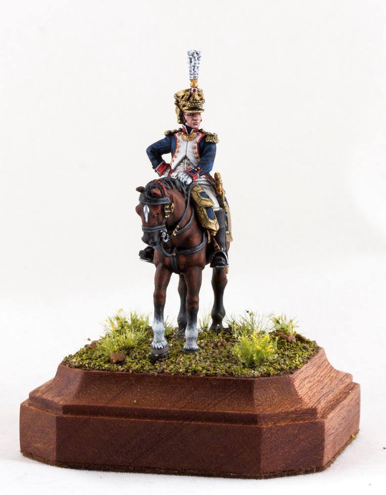 Фигурки: Шеф батальона 4-го полка лин. пехоты. Франция, 1808-13 гг., фото #7