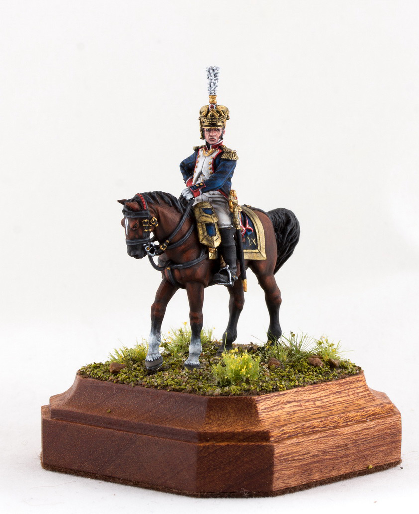 Фигурки: Шеф батальона 4-го полка лин. пехоты. Франция, 1808-13 гг., фото #8