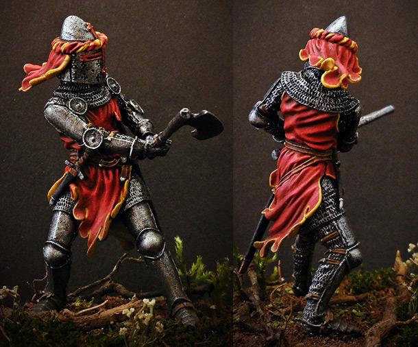Фигурки: Германский рыцарь, 1350-70