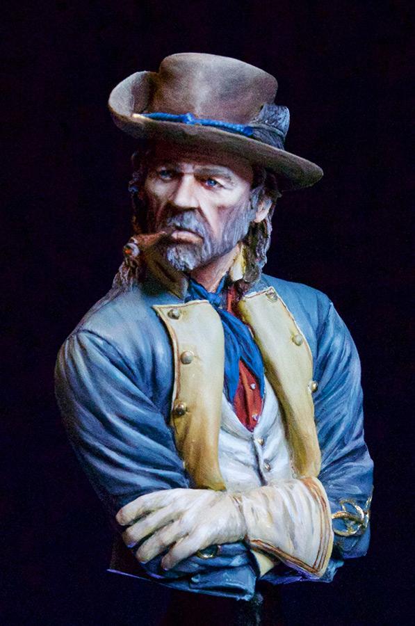 Фигурки: Офицер южан, гражданская война в США, фото #1