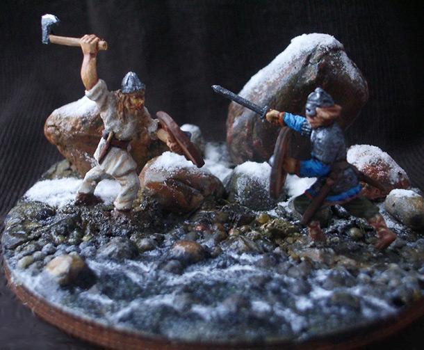 Диорамы и виньетки: Северная легенда