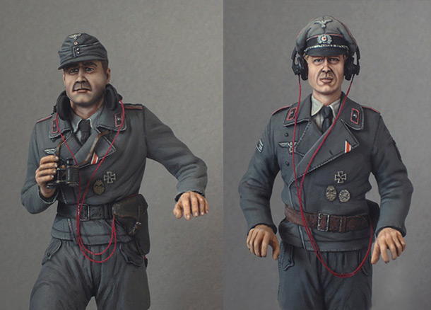 Фигурки: Танкисты Вермахта