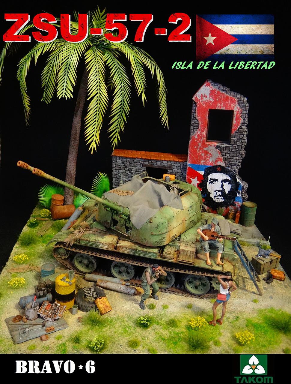 Диорамы и виньетки: ЗУ-57-2 Острова Свободы, фото #12