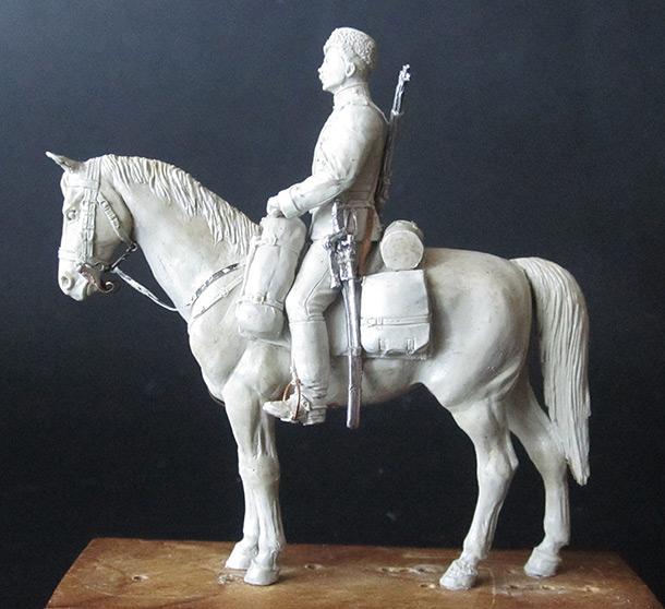 Скульптура: Рядовой армейского драгунского полка, 1897-1907гг.