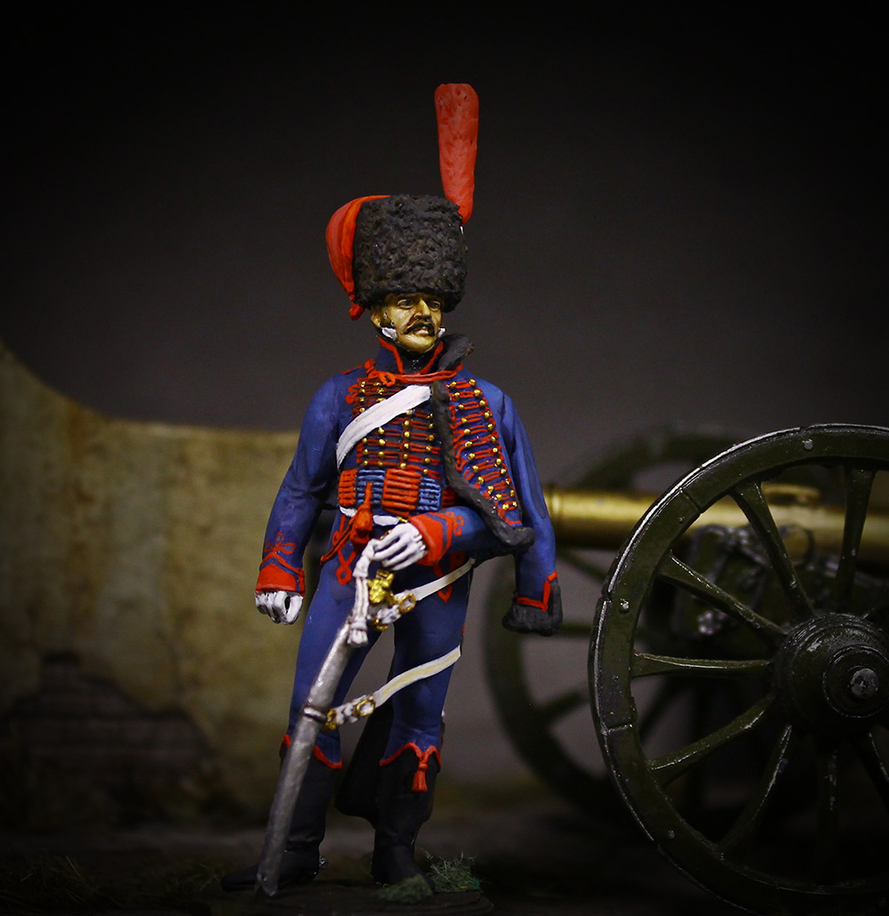 Фигурки: Канонир конной артиллерии Императорской гвардии, 1814 г., фото #1