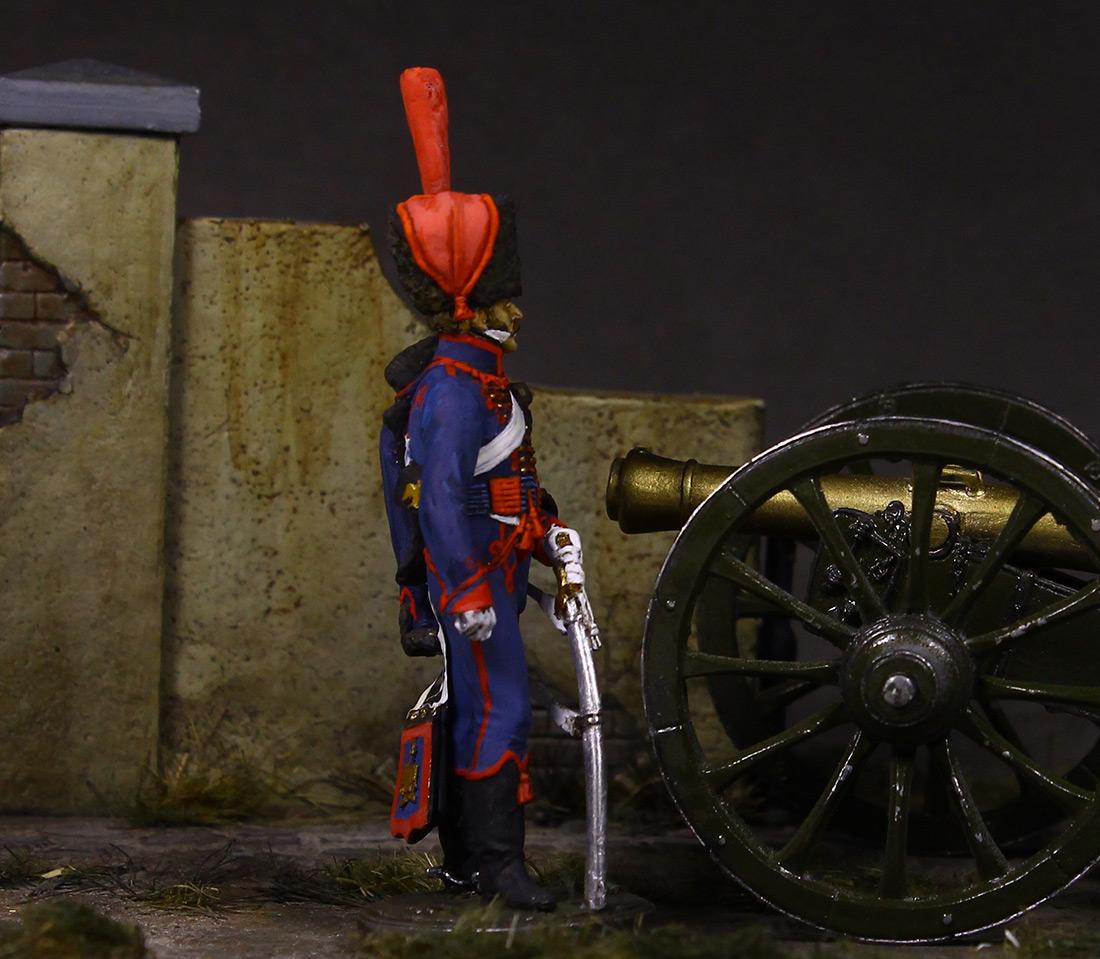 Фигурки: Канонир конной артиллерии Императорской гвардии, 1814 г., фото #6
