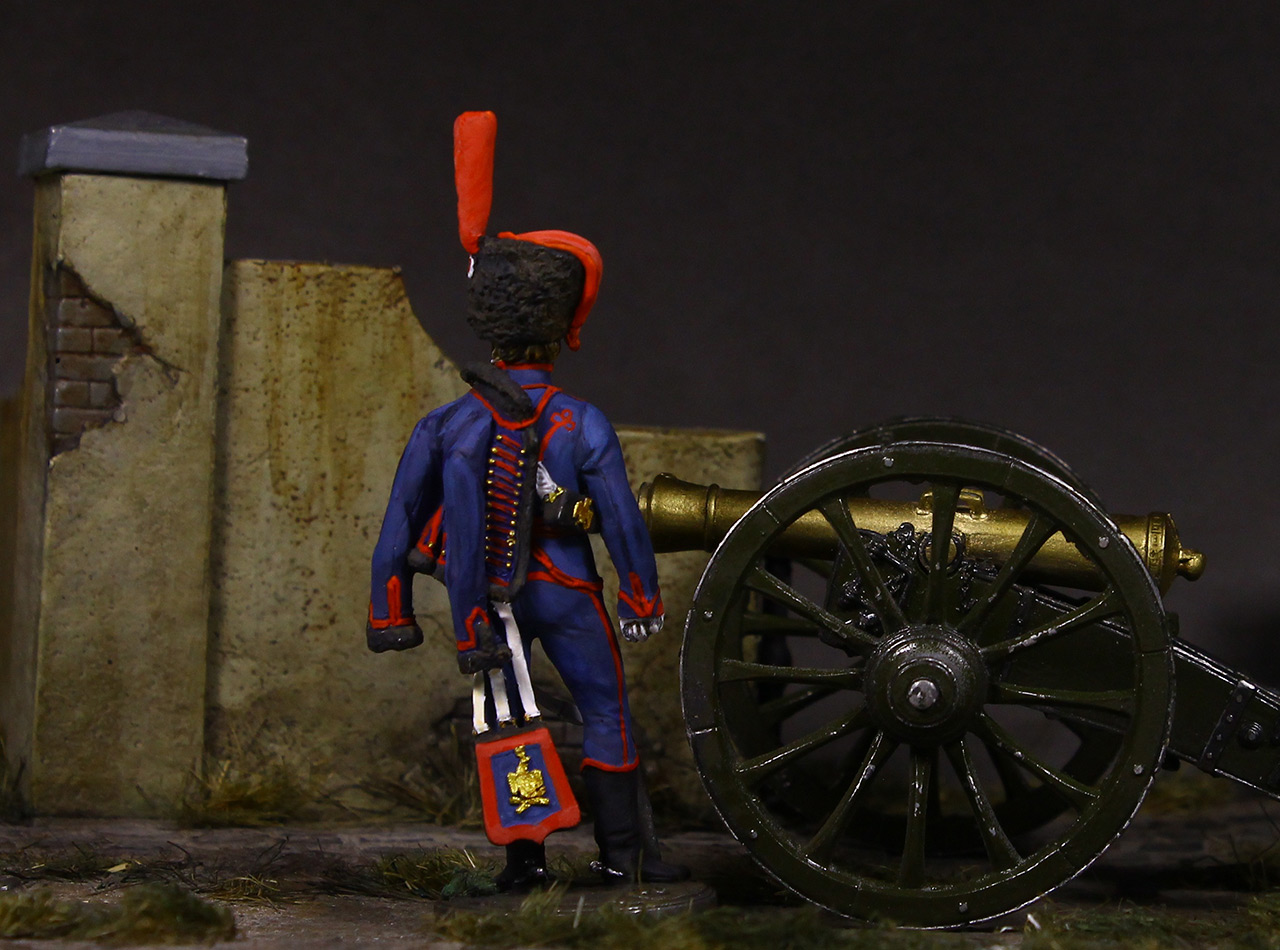 Фигурки: Канонир конной артиллерии Императорской гвардии, 1814 г., фото #7