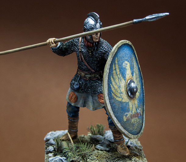 Фигурки: Римский легионер, IV в. н.э.
