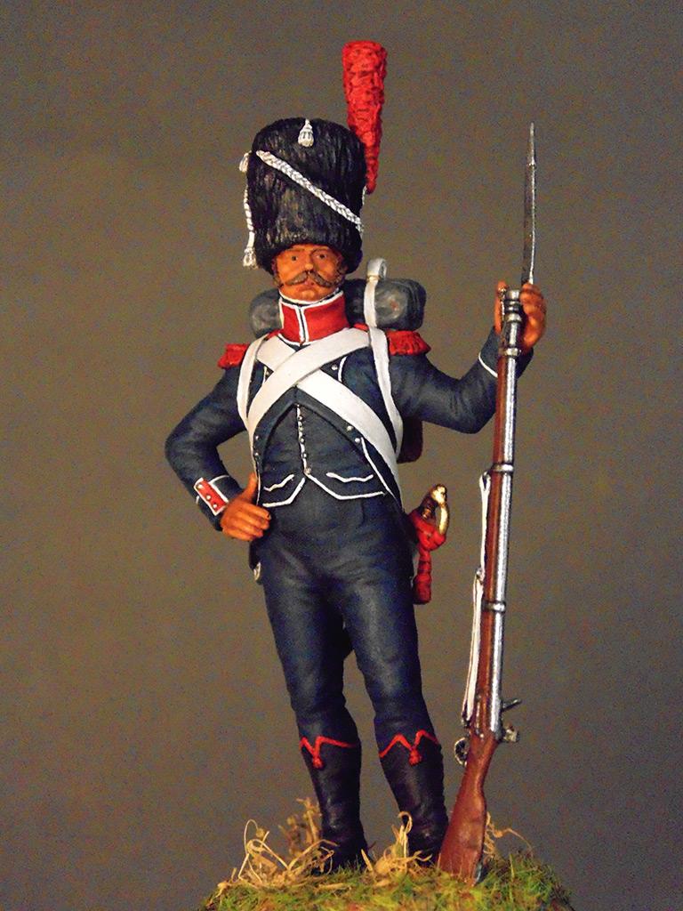 Фигурки: Франция Наполеона. Карабинер лёгкой пехоты, фото #2