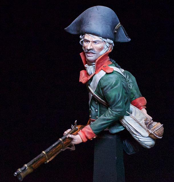 Фигурки:  Русский пехотинец, 1799 год
