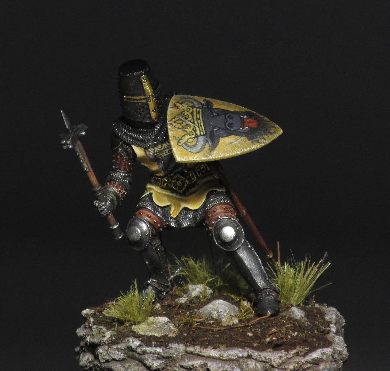 Фигурки: Средневековый рыцарь, фото #1