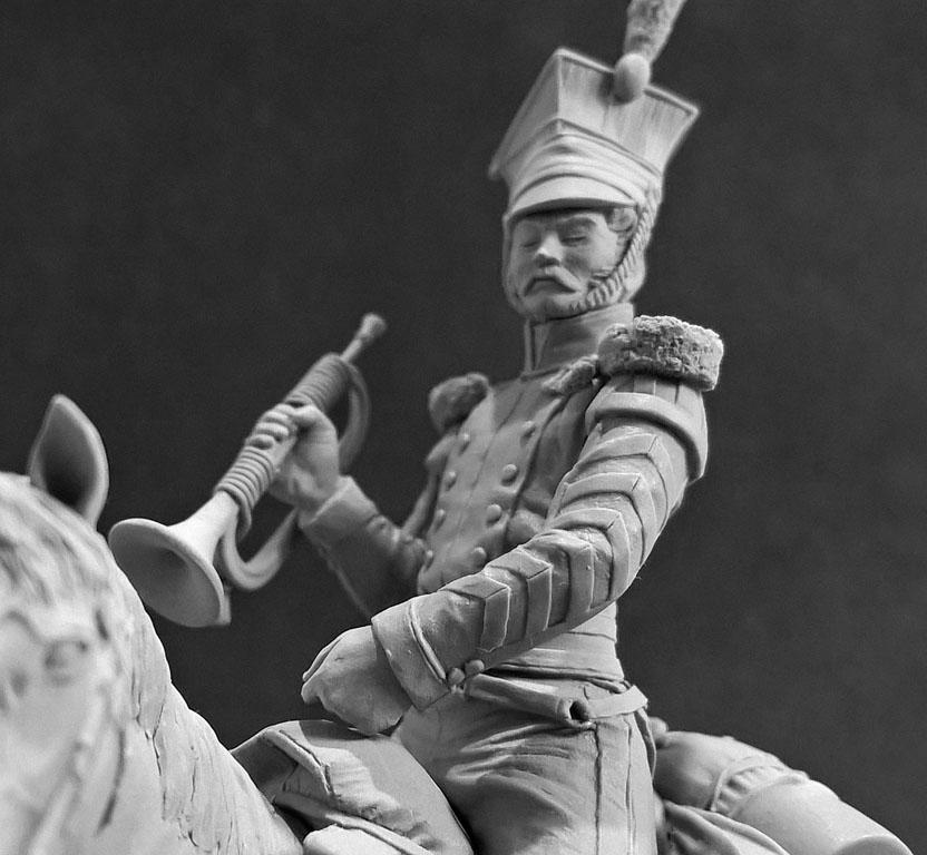 Скульптура: Трубач армейского уланского полка. Россия, 1809-14 гг., фото #10