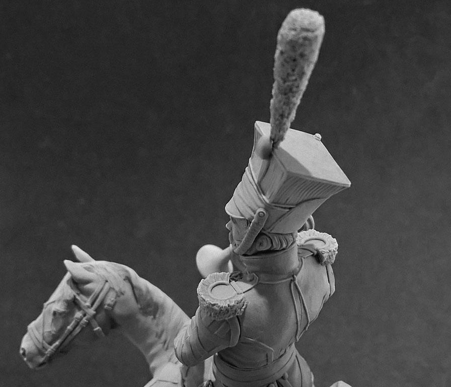 Скульптура: Трубач армейского уланского полка. Россия, 1809-14 гг., фото #11