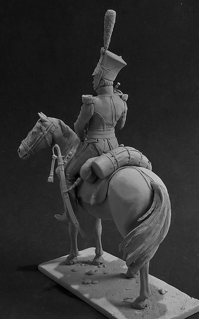 Скульптура: Трубач армейского уланского полка. Россия, 1809-14 гг., фото #3