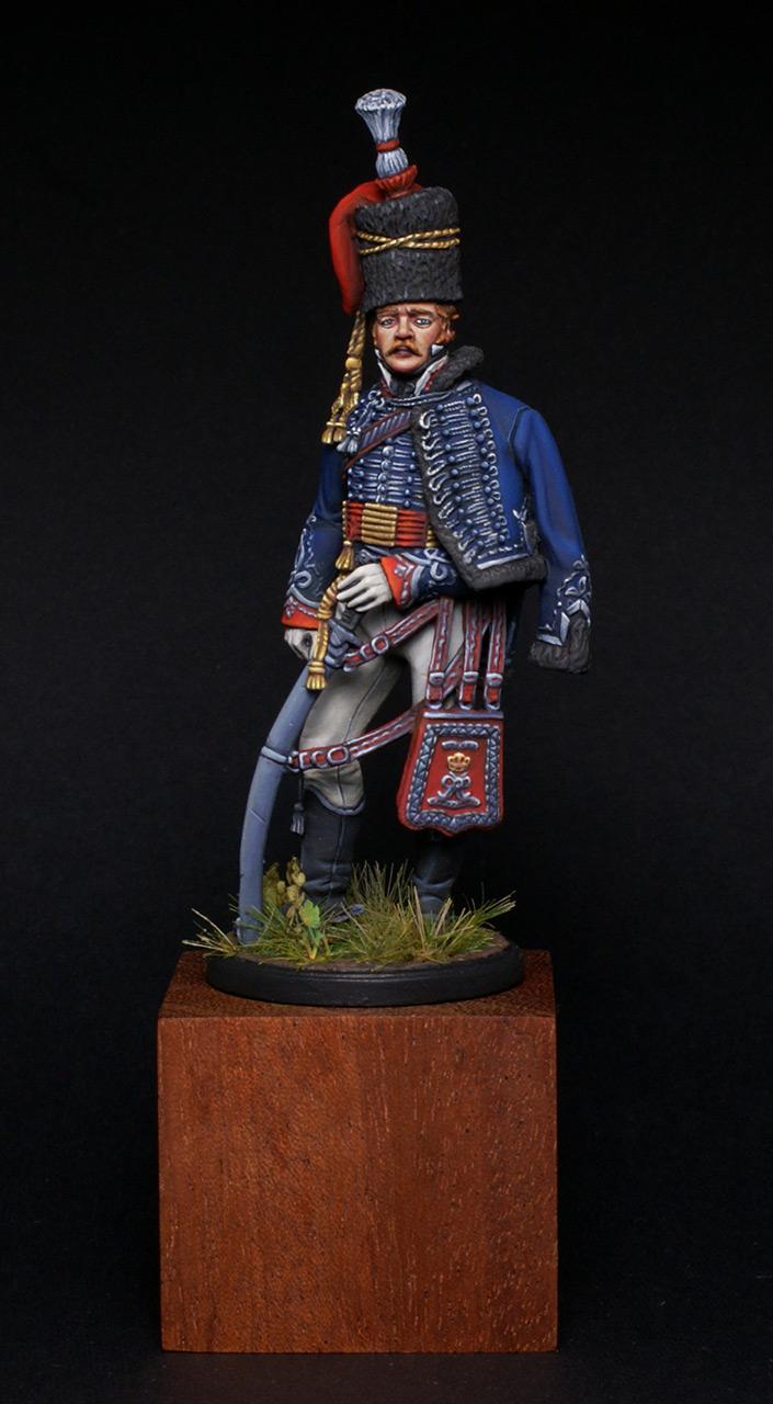 Фигурки: Британский офицер 15-го гусарского полка, фото #1