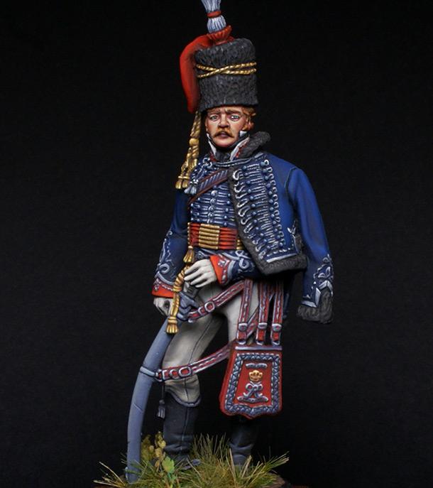 Фигурки: Британский офицер 15-го гусарского полка