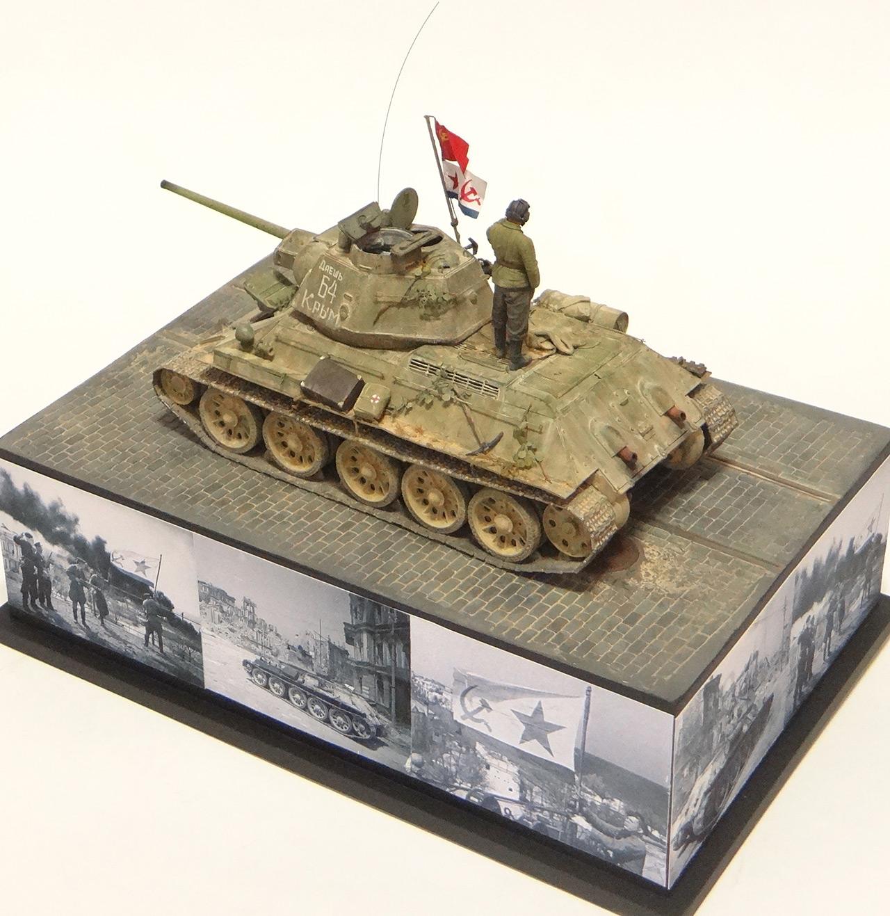Диорамы и виньетки: Т-34-76 Крым 1944г. , фото #5