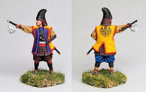 Фигурки: Самурайский военачальник из рода Хасиба