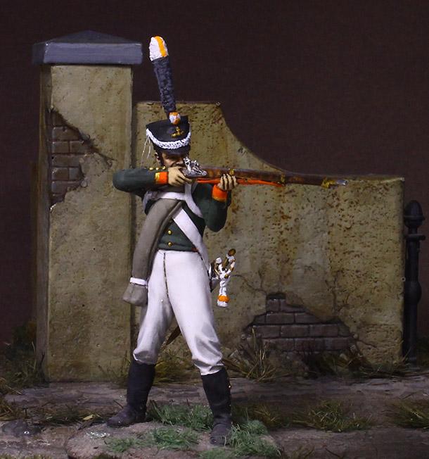 Фигурки: Унтер-офицер гренадерской роты Селенгинского пехотного полка, 1812