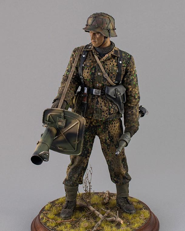 Фигурки:  Охотник на шерманов. Франция. Осень 1944 года.