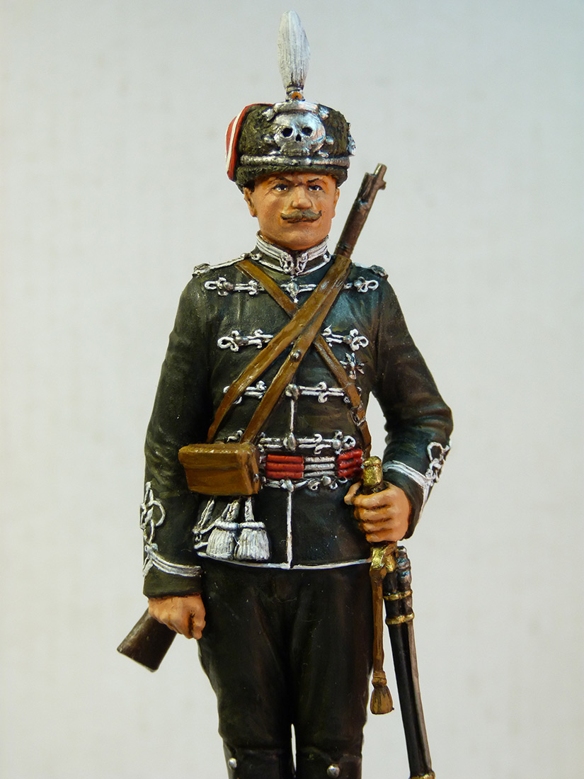 Фигурки: Aлександрийский гусар 1914г, фото #3
