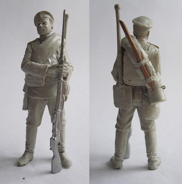 Скульптура: Юнкер Николаевского инженерного училища 1900г