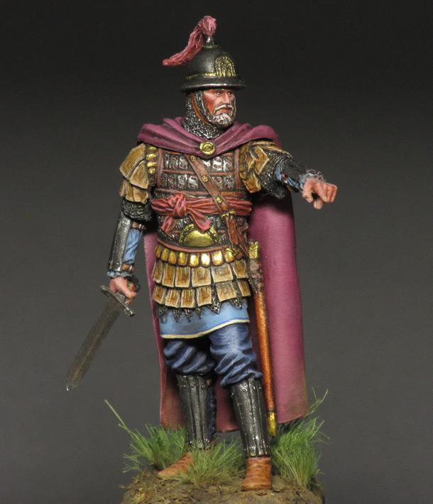 Фигурки:  Византийский командир