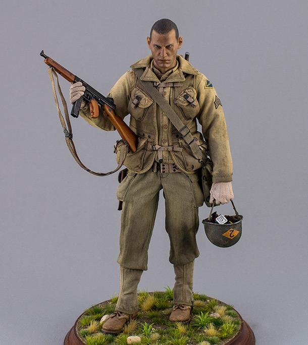 Фигурки: Сержант 2-го батальона рейнджеров. Франция. Июнь 1944 .