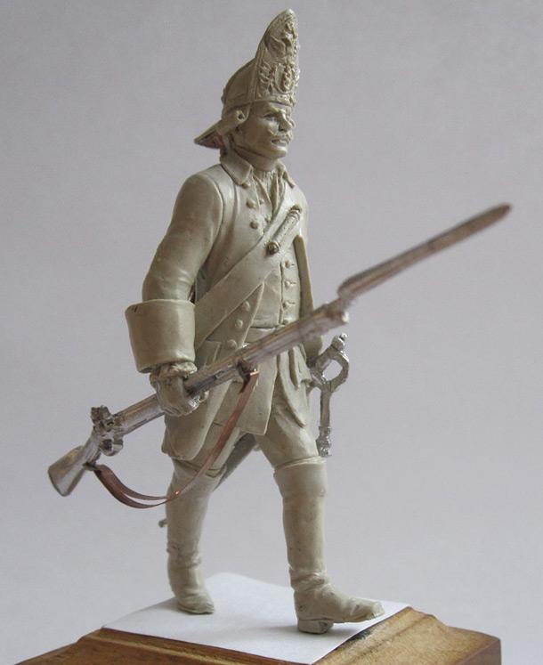 Скульптура: Гренадер. Россия, 1759г.