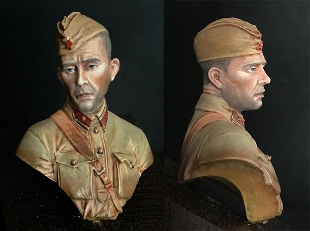 Фигурки:  Младший лейтенант РККА, 1941 год