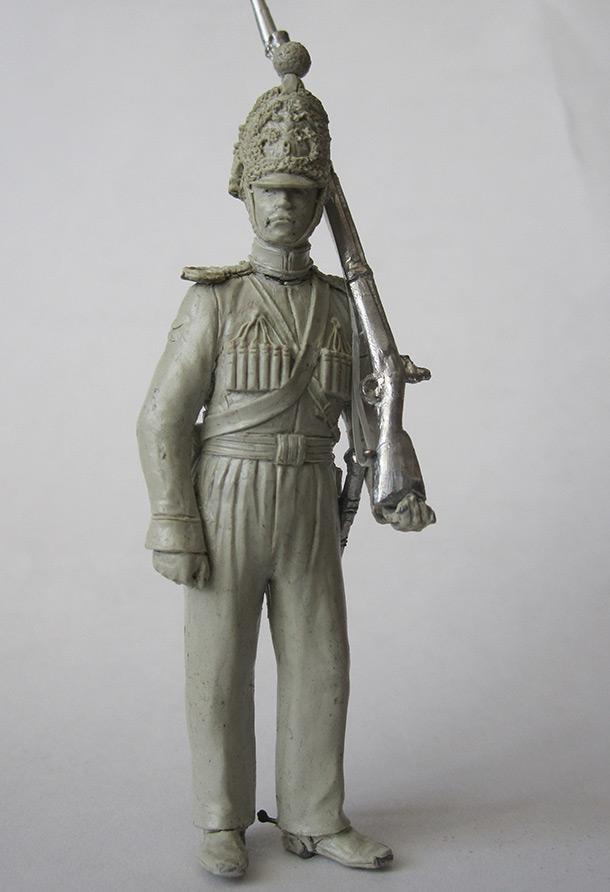 Скульптура:  Нижегородский драгун 1842 г.