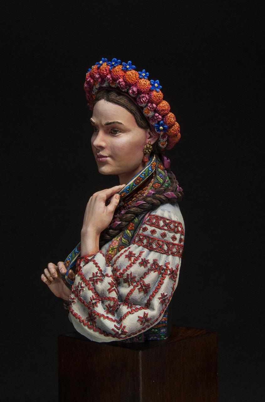 Фигурки:  Маруся Чурай (украинская девушка), фото #2
