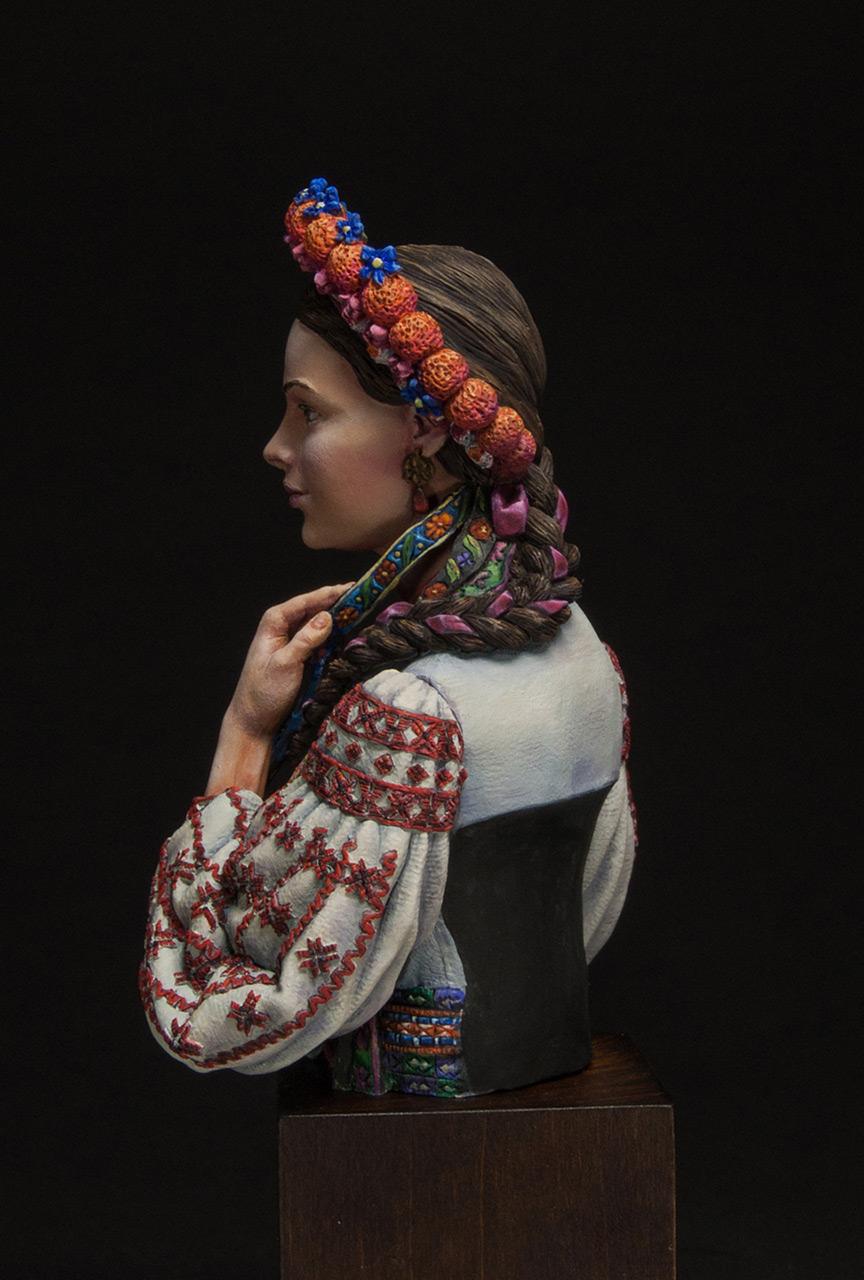 Фигурки:  Маруся Чурай (украинская девушка), фото #3