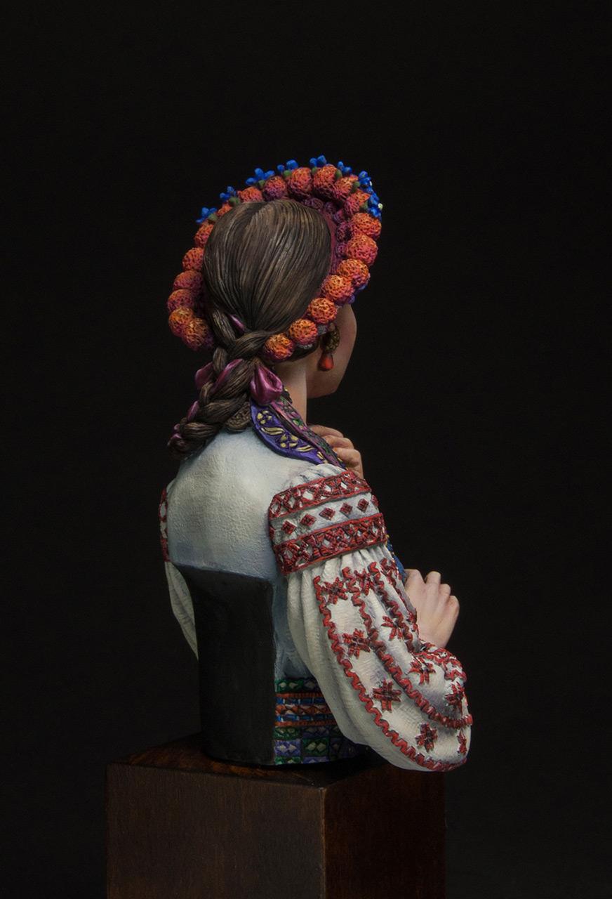 Фигурки:  Маруся Чурай (украинская девушка), фото #4