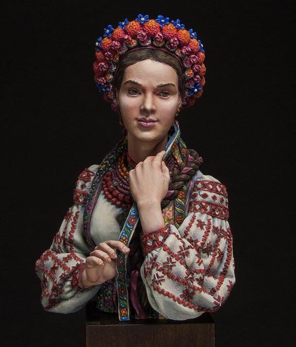 Фигурки:  Маруся Чурай (украинская девушка)