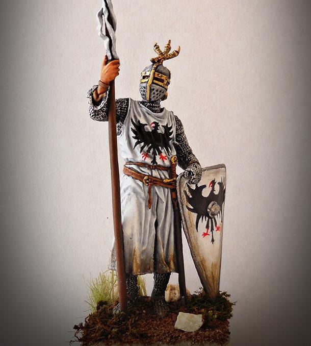 Фигурки: Западноевропейский рыцарь, конец XII - нач. XIII в.