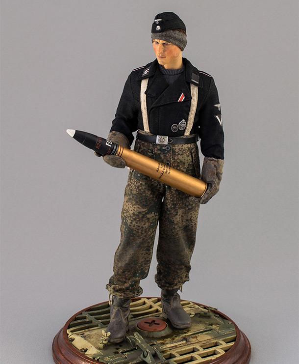 Фигурки: Танкист СС. Германия. Ноябрь 1944 г.