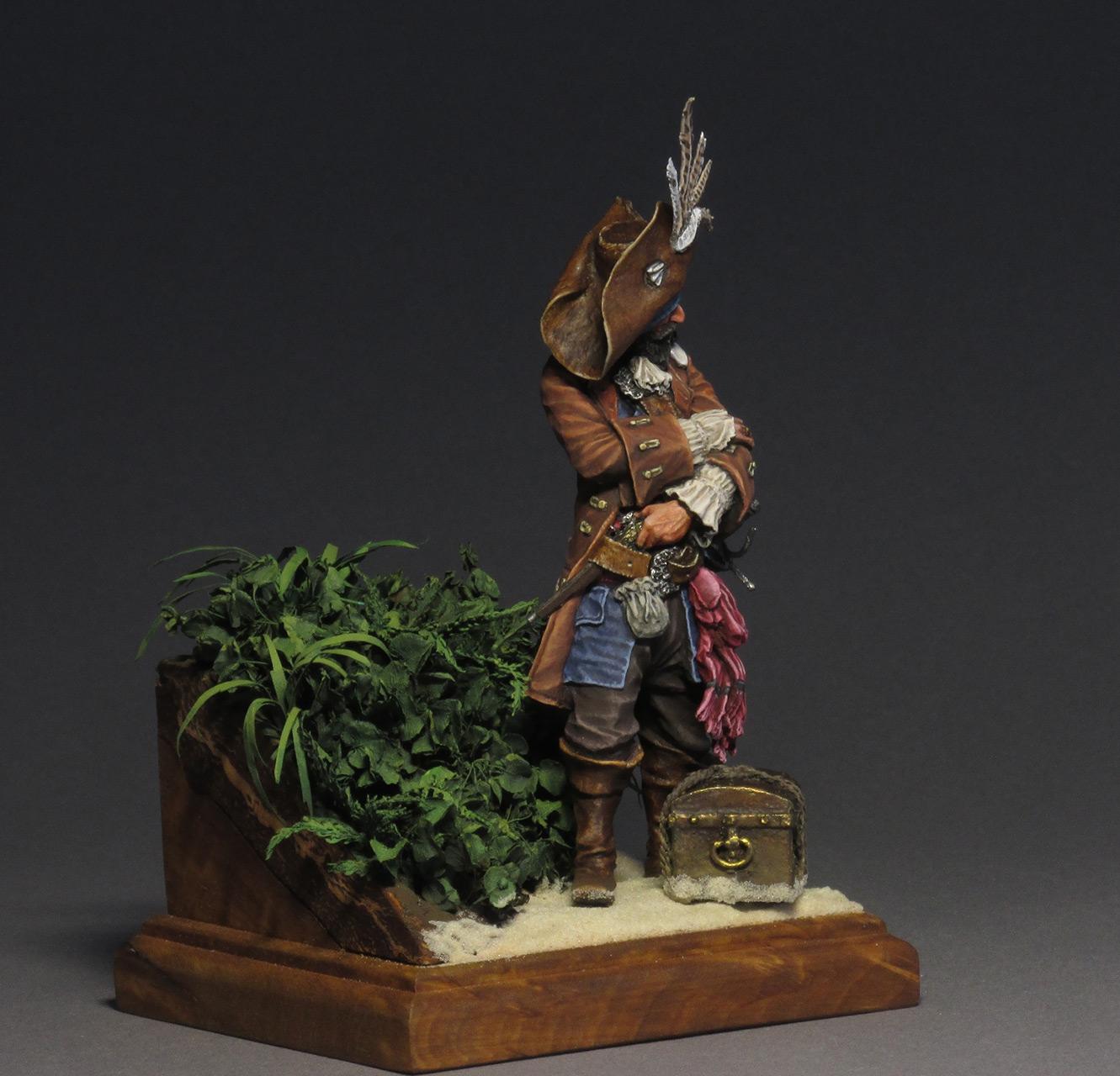 Фигурки: Пиратский барон Мадагаскара капитан Тиг, фото #3