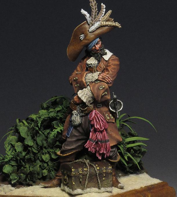 Фигурки: Пиратский барон Мадагаскара капитан Тиг