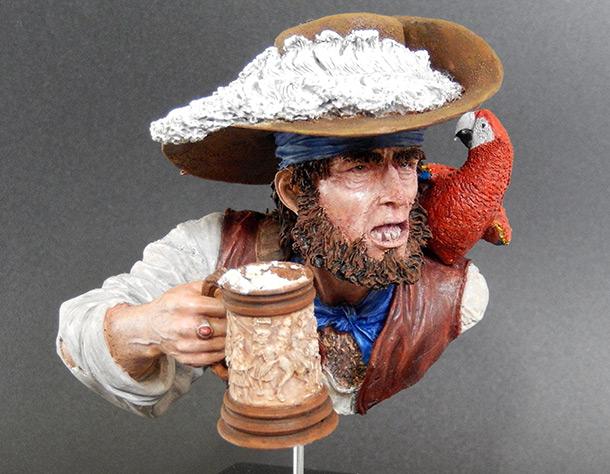 Фигурки: Пьяный пират