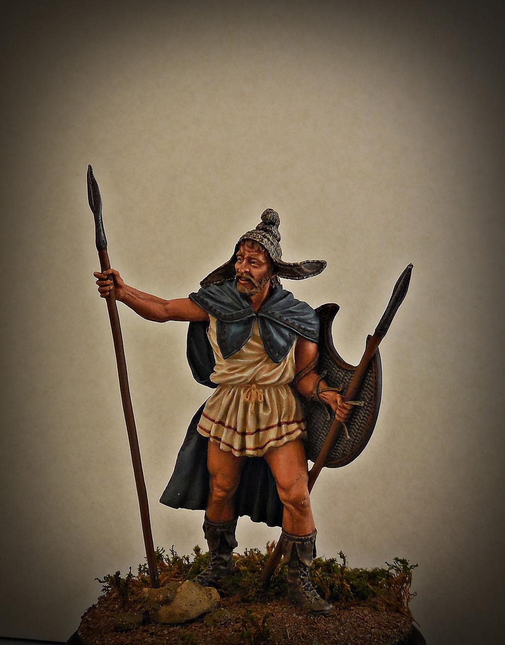 Фигурки: Фракийский пельтаст, V век до н.э., фото #1