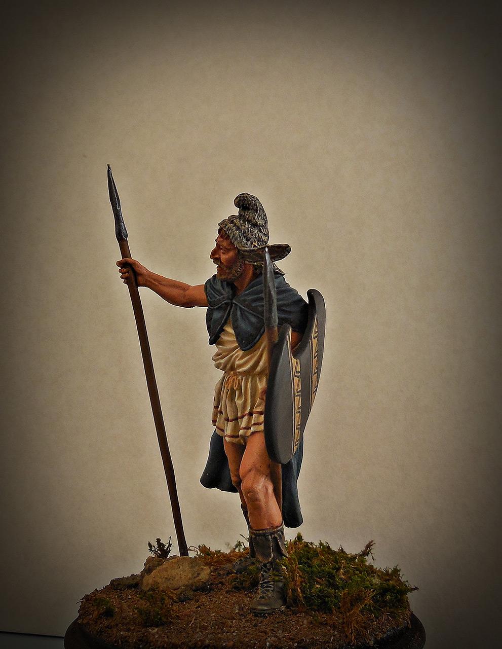 Фигурки: Фракийский пельтаст, V век до н.э., фото #2