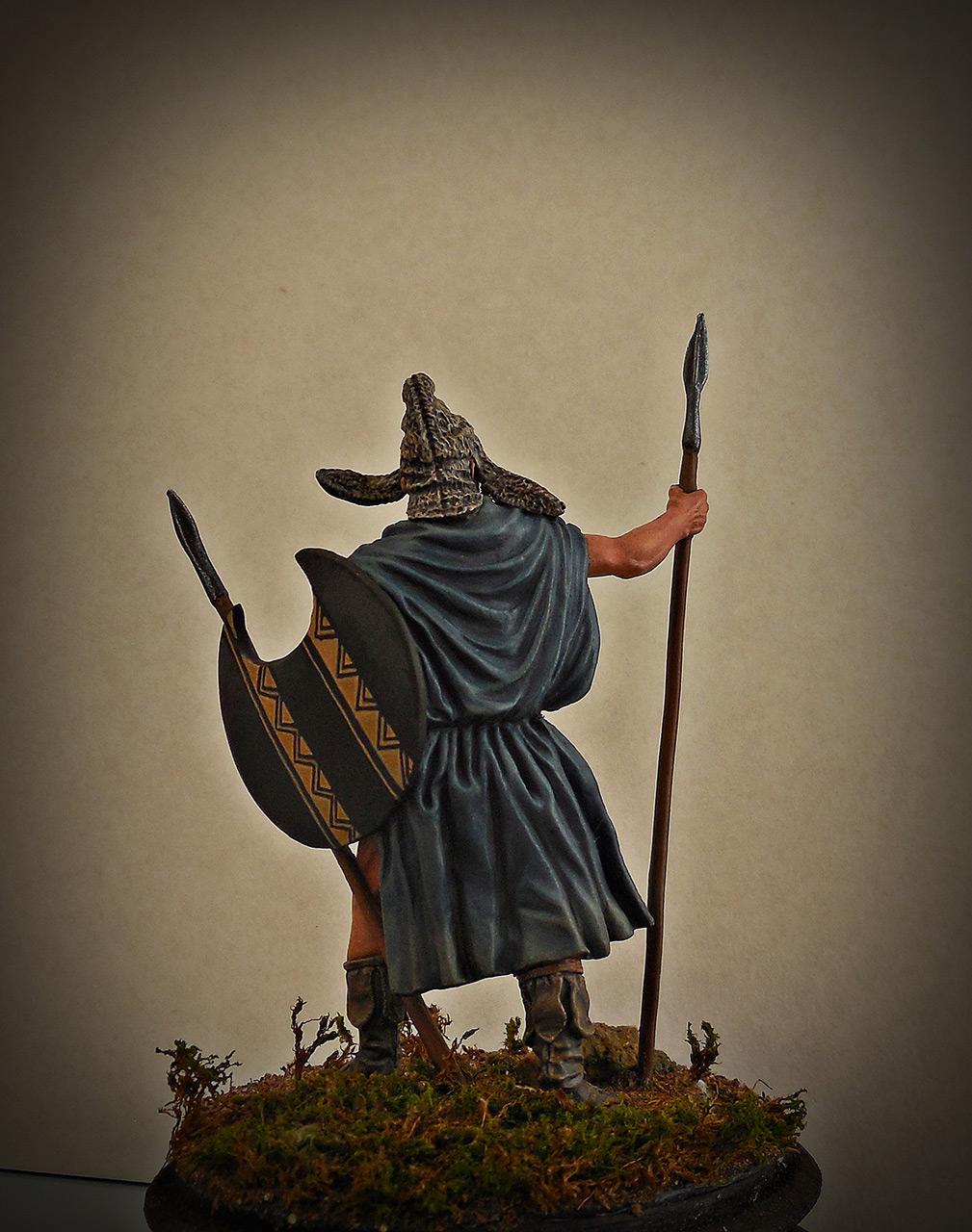 Фигурки: Фракийский пельтаст, V век до н.э., фото #5