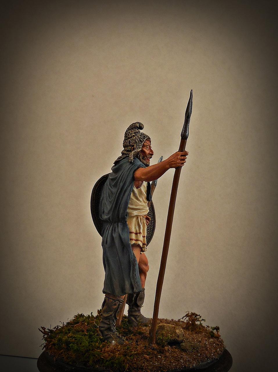 Фигурки: Фракийский пельтаст, V век до н.э., фото #6
