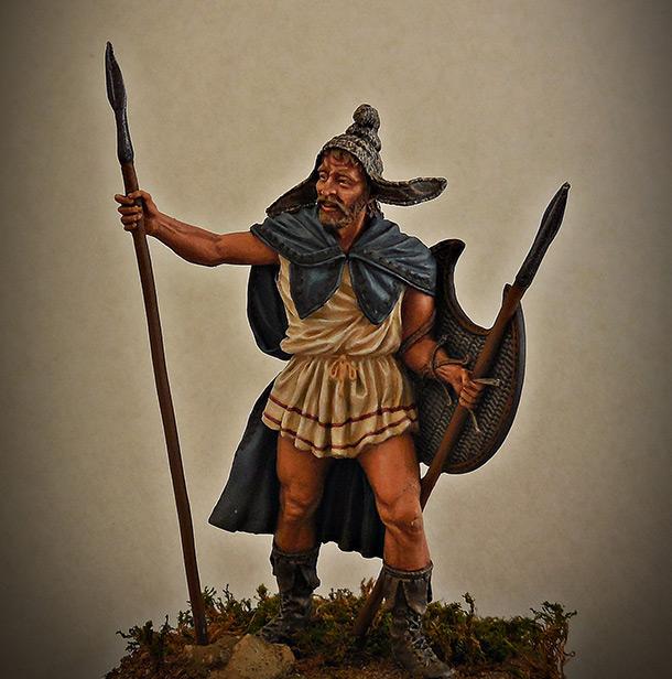 Фигурки: Фракийский пельтаст, V век до н.э.