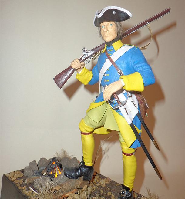 Скульптура: Швед. Северная война.