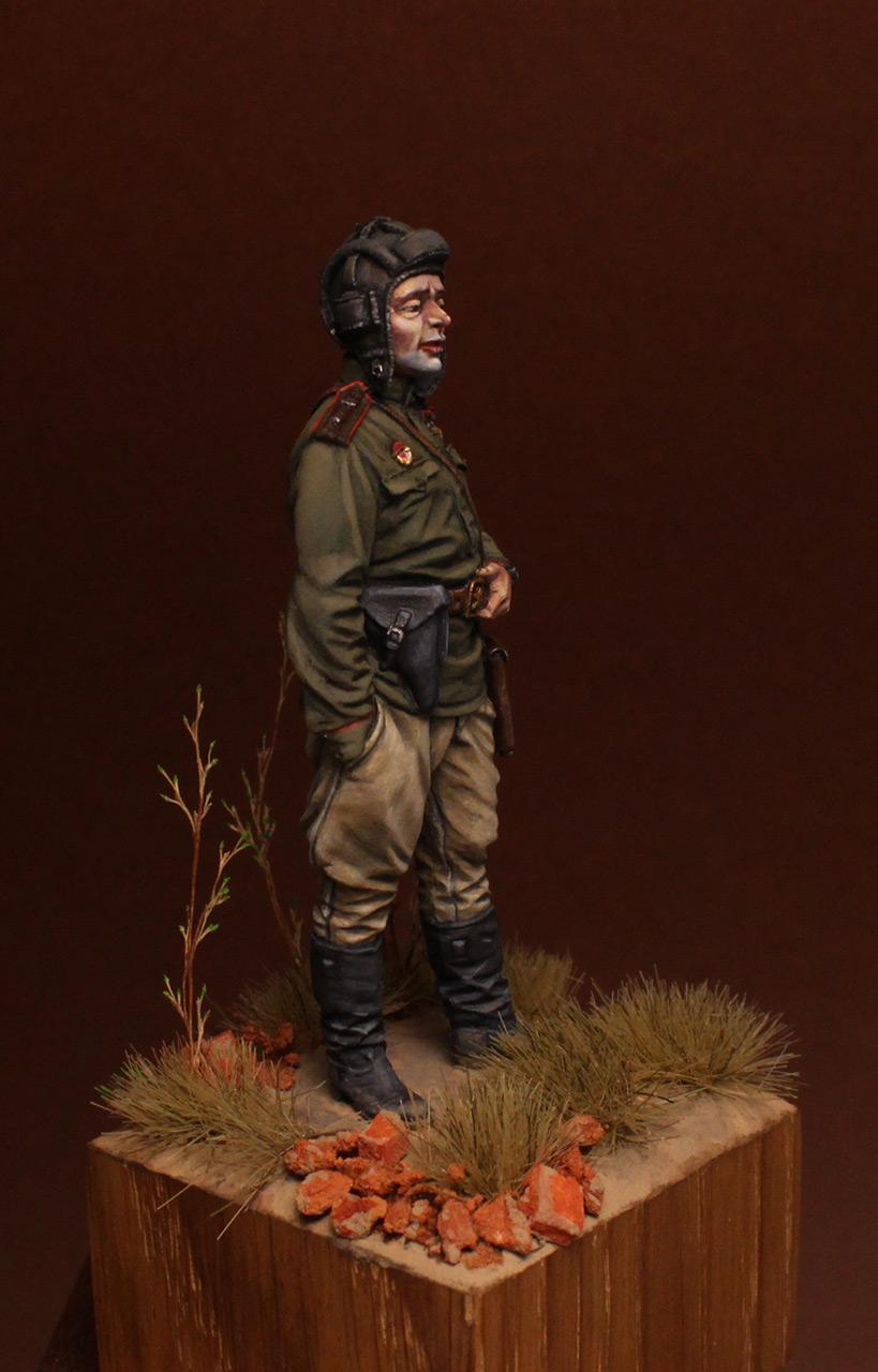 Фигурки: Гв.майор, командир танкового батальона, 1945 , фото #8