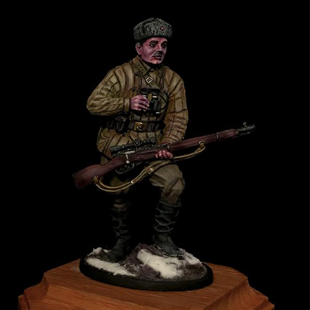 Фигурки: Советский снайпер