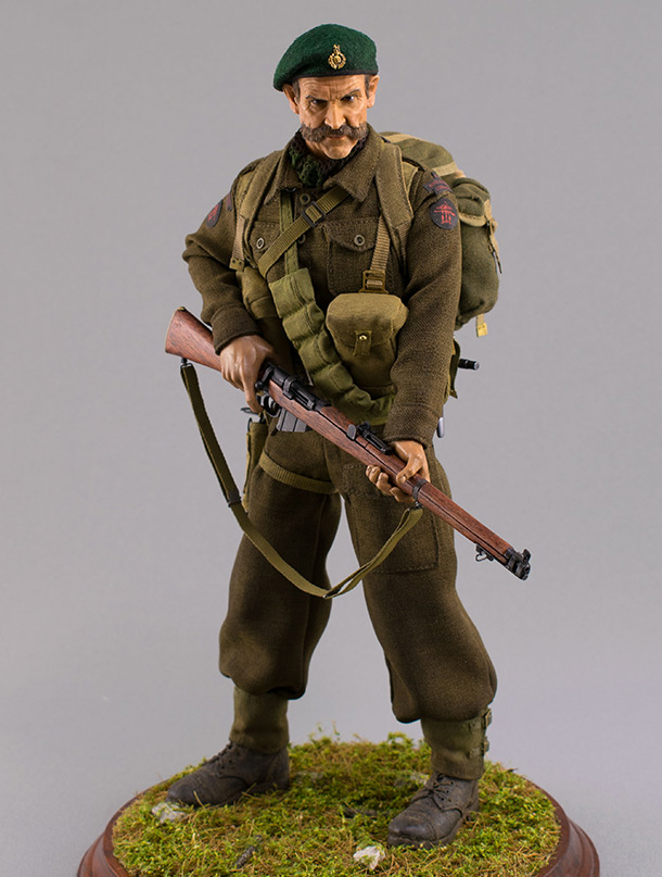 Фигурки: Royal Marine Commando. Франция, лето 1944 г.