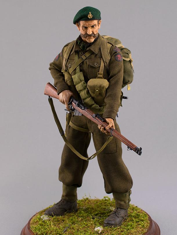 Фигурки: Royal Marine Commando. Франция, лето 1944 г.